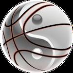 basketbal spiritualiteit yin yang